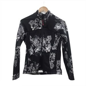 Lululemon Define Jacket Black White Floral